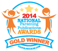 National Parenting Publications Awards Gold 2014