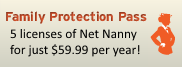 Save more with the Net Nanny Family Protection Pass!